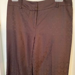 Ann Taylor Brown Dress Pants